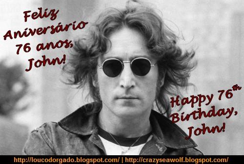Feliz Aniversário/Happy Birthday, John Lennon