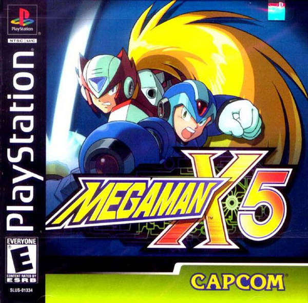 Mega Man X5 - PSX - Portada
