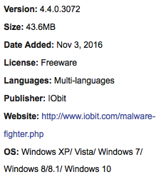 Download IObit Malware Fighter Full Version Offline Installer