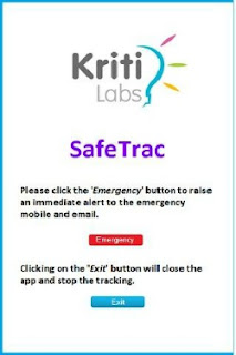 SafeTrac android