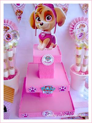 Stand para cupcakes personalizado Skye