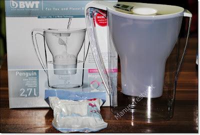 Das Trinkwasser filtern