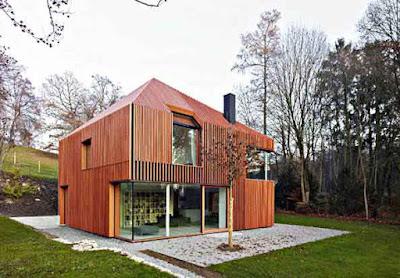Desain rumah minimalis ala Eropa