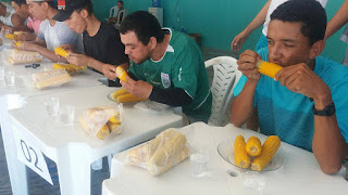 Conheça o Maior comilão de Milho; concurso realizado em Baraúna