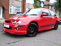 Solar Red Modified Rover 25