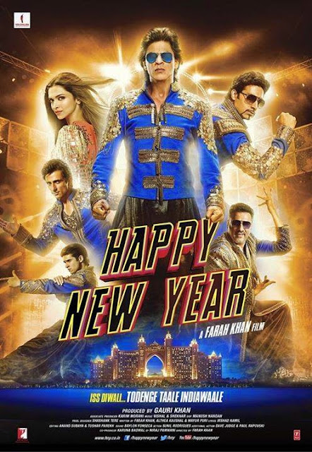 Happy New Year 2014 Hindi DVDScr 700mb MP3 MP4