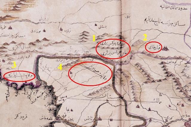 карта кавказа, карта карачая, карта кабарды, карта черкесии