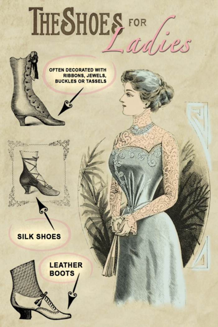 victorian style shoes