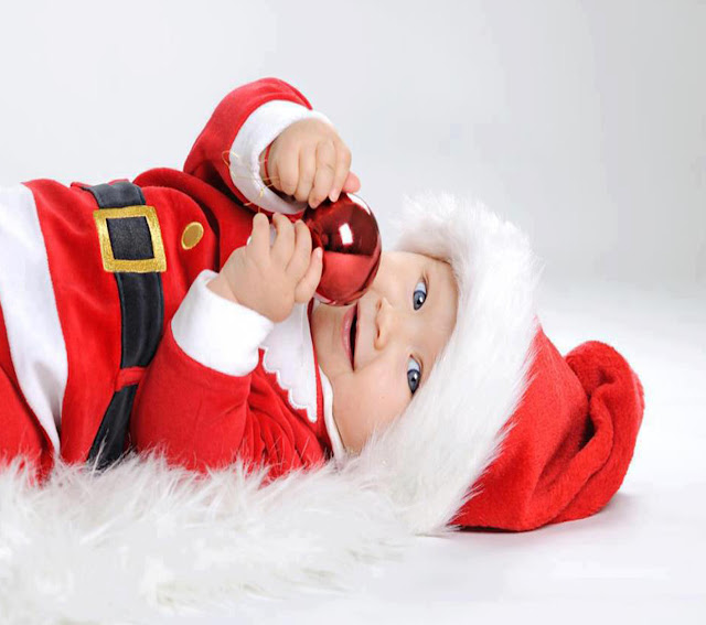 baby christmas images