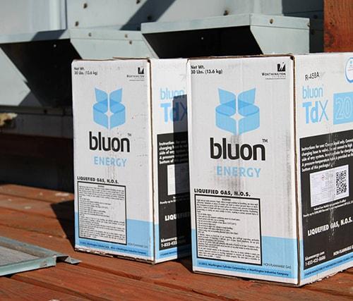 Bluon Energy: May 2018