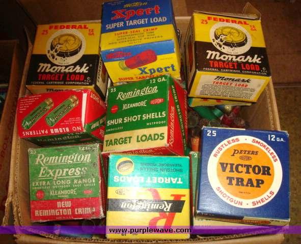 Ammo And Gun Collector Shotgun Shell Box Collections
