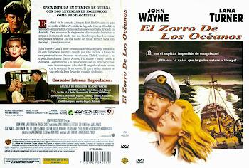 Caratula dvd: El zorro de los océanos (1955) (The Sea Chase)