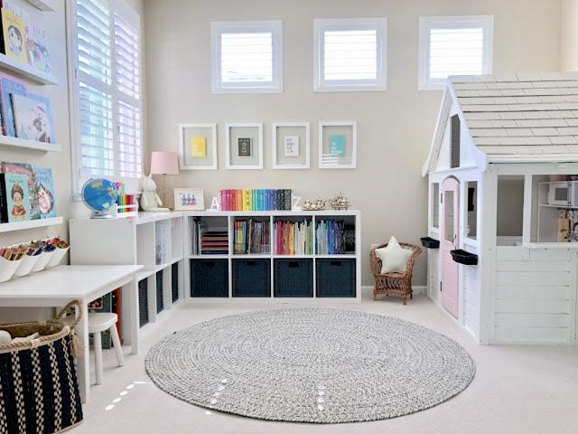 Pokój zabaw w domu - inspirujący projekt