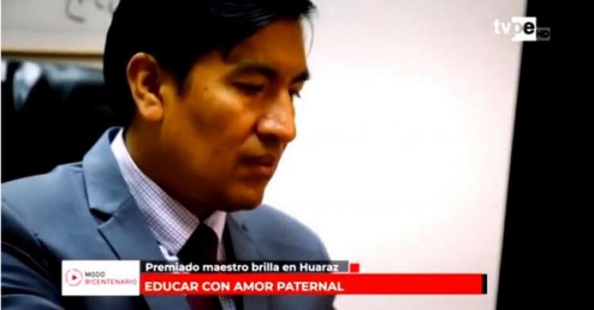 FONDEP: Docente Juan Cadillo en programa Modo Bicentenario - www.fondep.gob.pe