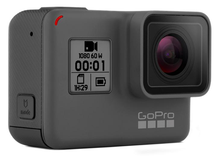 GoPro Hero, вид спереди