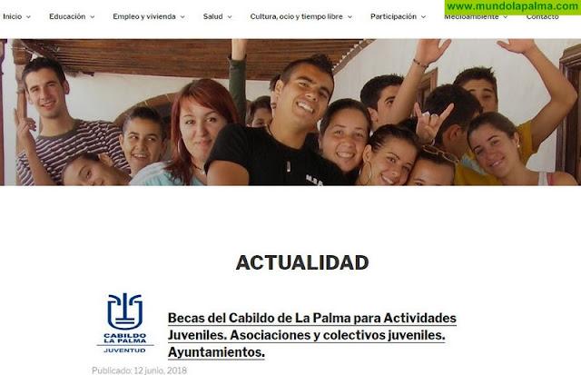 Juventud pone en marcha una nueva web más dinámica y enfocada a los temas que más interesan a la población juvenil