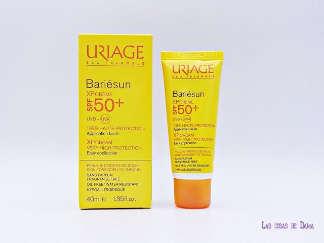 Bariésun Uriage sunprotect autobronceador farmacia dermocosmetica laboratorio