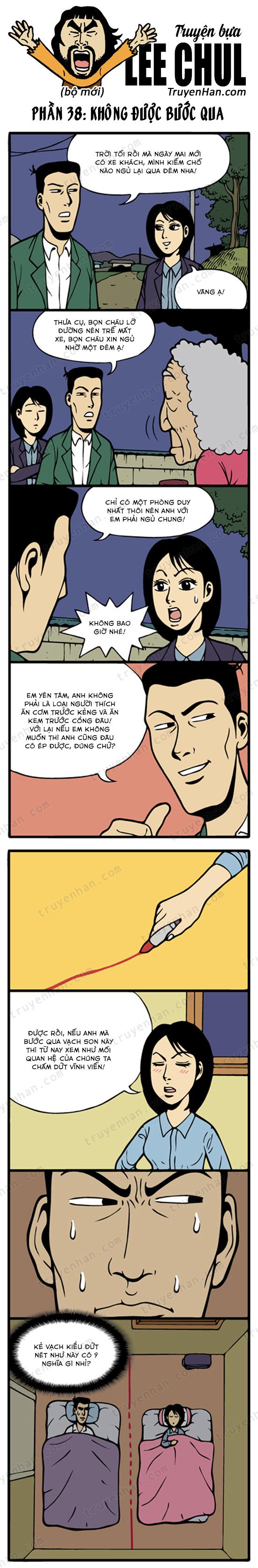 Lee Chul (bộ mới) phần 38: Không được bước qua