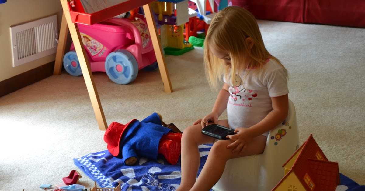 Our Little Peanuts: Potty Training Nightmare