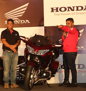 Honda's 2018 Gold Wing deliveries commence in Bangalore