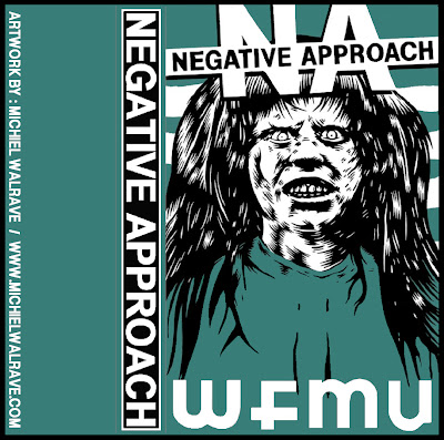 NEGATIVE APPROACH - live on Brian Turners show WFMU radio 2008