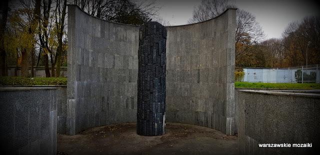 pomnik Warszawa Warsaw Wola miejsce pamięci Gibalskiego