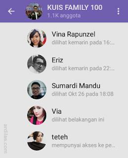Anggota grup Telegram - Cara Mencari Teman di Telegram