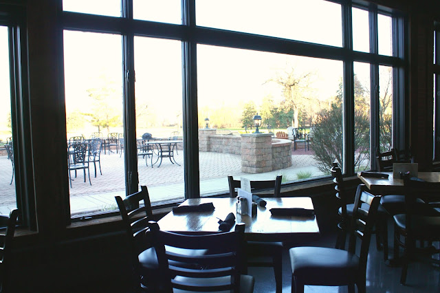 View of the patio at Fox and Turtle