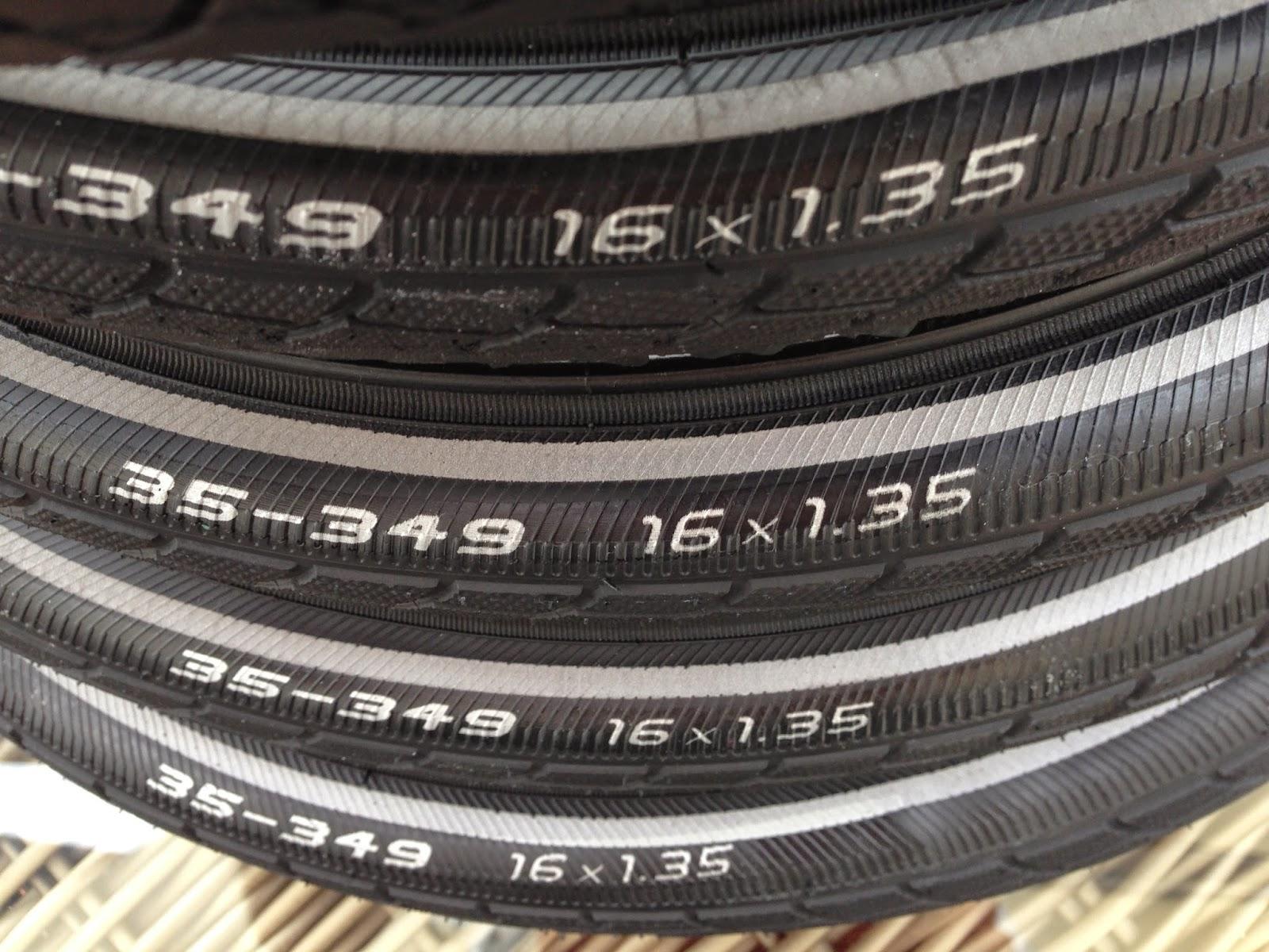Marathon plus 16 x 1.35 35-349 Brompton tyre