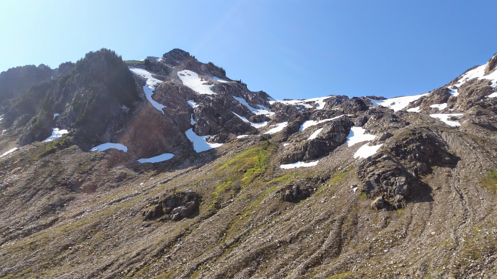 The Dragons Lair, right on the Pacific Crest Trail.