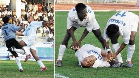 cristiano junior asal brasil yang tewas setelah mencetak gol