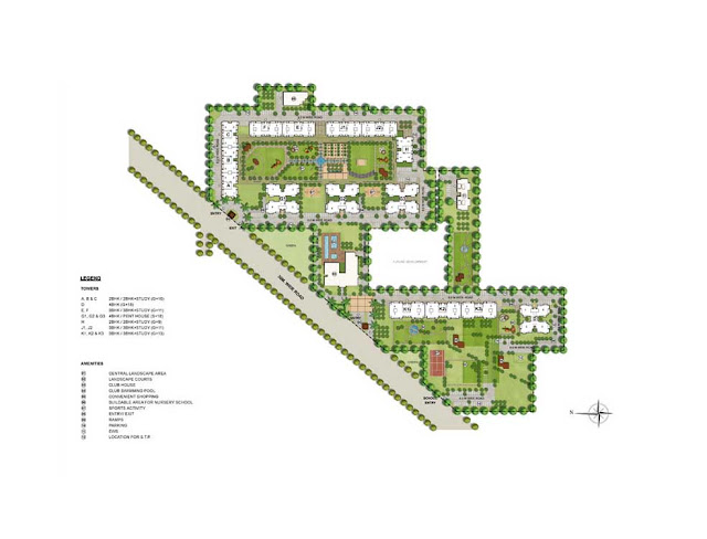 Master Plan - Indiabulls Centrum Park
