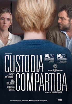 CUSTODIA COMPARTIDA - Cartel España