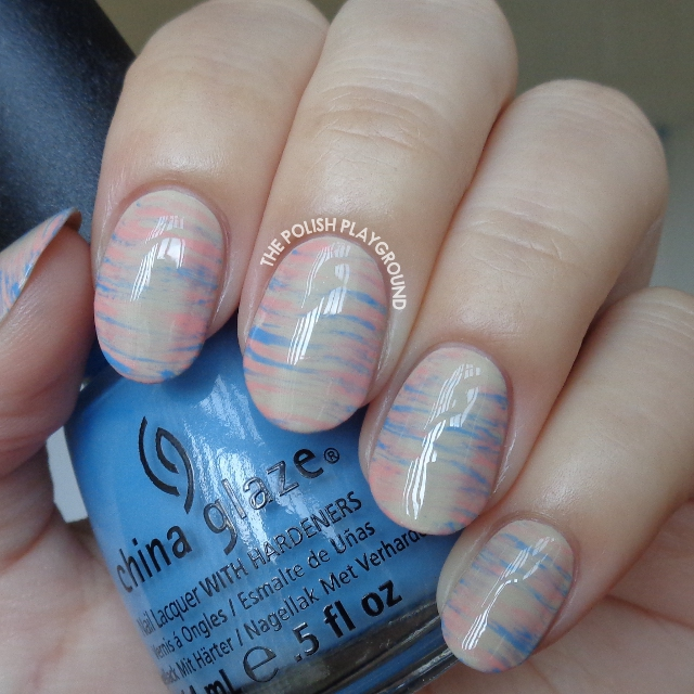 2016 Pantone Colors Inspired Haze Nail Art