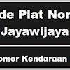 Kode Plat Nomor Kendaraan Jayawijaya