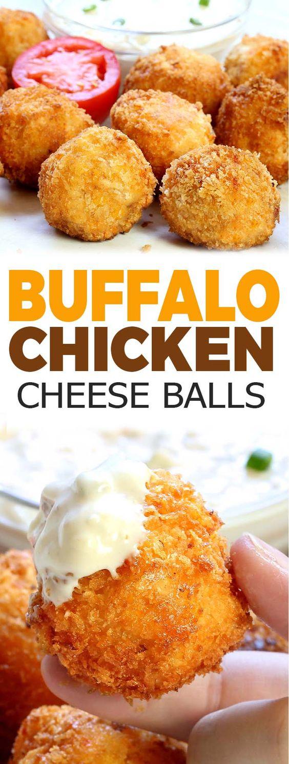 Easy Buffalo Chicken Bites