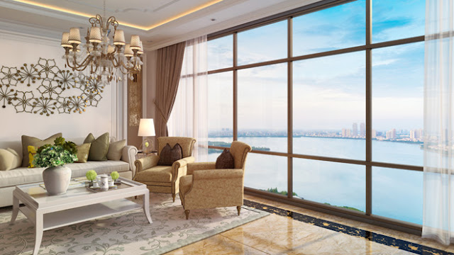 Tầm view trọn vẹn đẹp mắt của căn hộ Sunshine Diamond River
