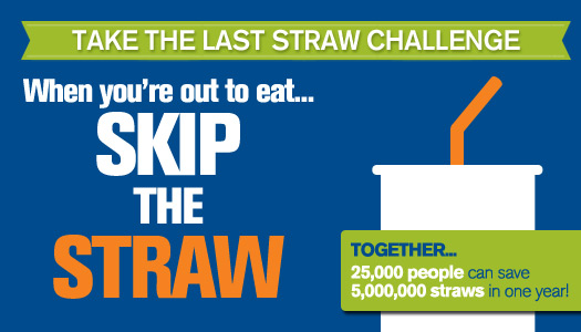 ocean conservancy skip the straw