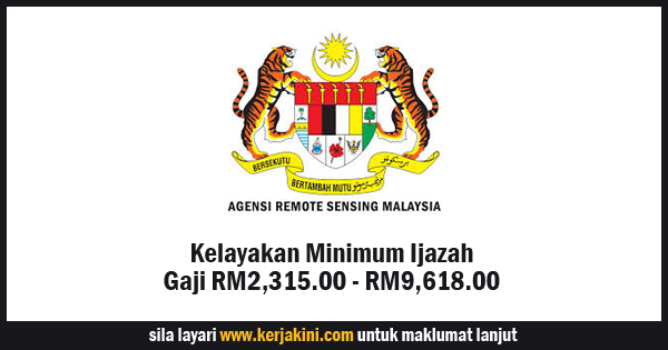 jawatan kosong agensi remote sensing malaysia
