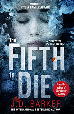 The Fifth to Die by J.D. Barker book cover