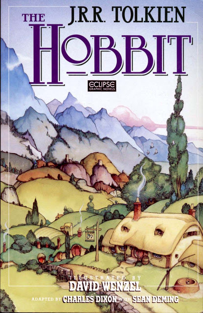 The Hobbit TPB (1990 Eclipse Edition) By J.R.R. Tolkien - David Wenzel. Comic book
