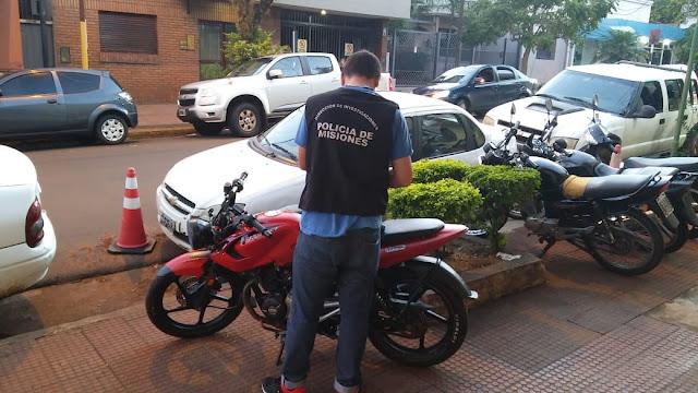 POSADAS : Recuperaron una motocicleta robada