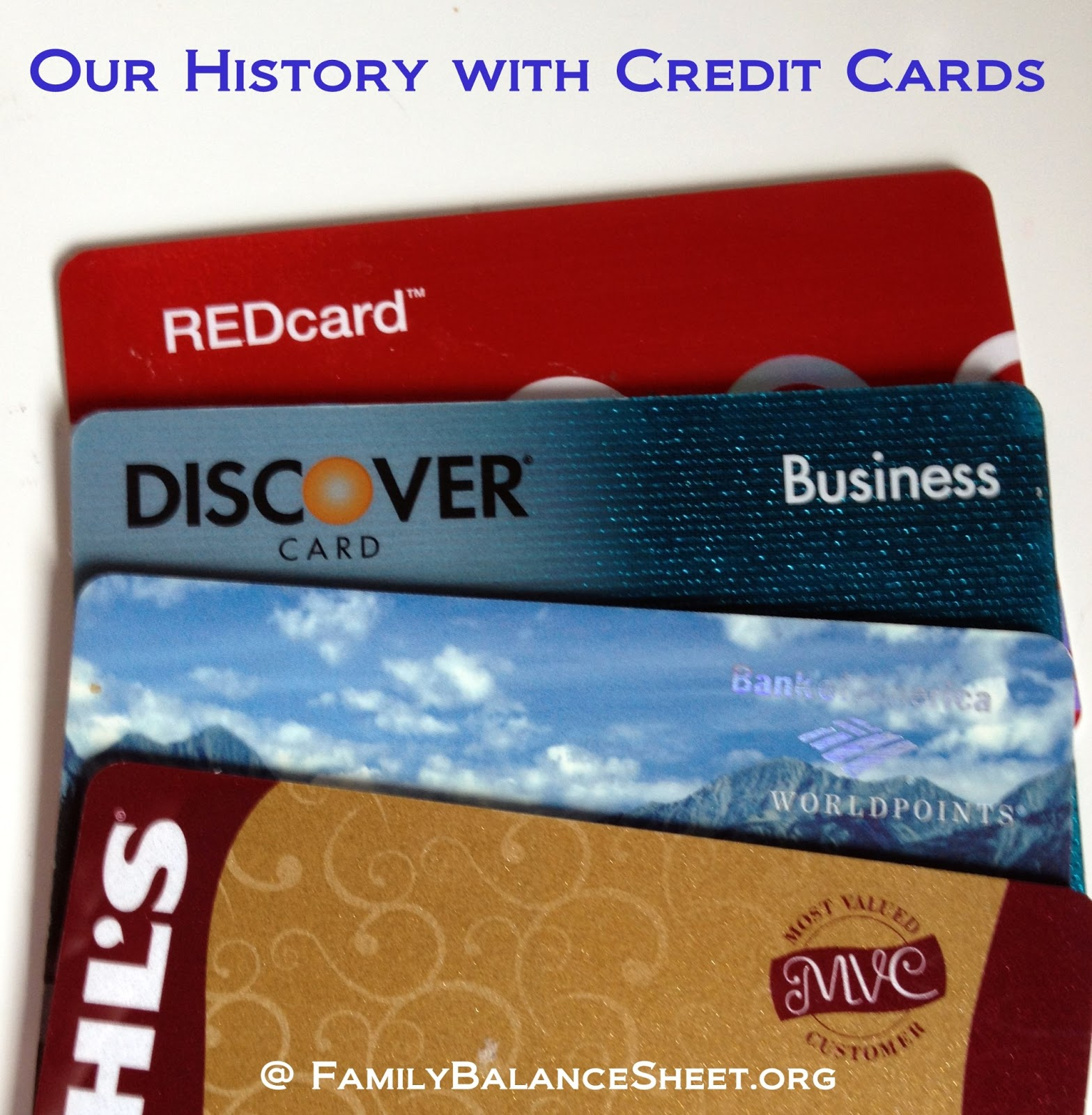 Our History With Credit Cards Amp Switching To Cash