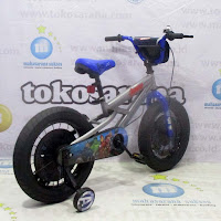 16 element the avengers bmx sepeda anak