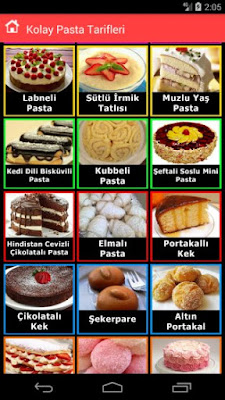 Pasta Tarifleri İnternetsiz Google Play'de Android Uygulaması