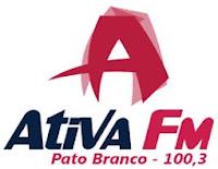 Rádio Ativa FM 100,3 de Pato Branco PR