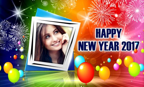 Happy New Year 2017 Lovely Frames For Photos Happy New Year 2017