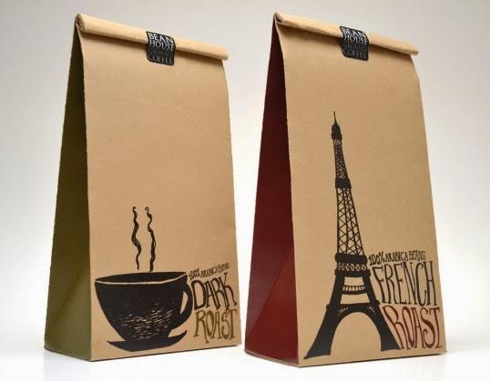 Kết quả hình ảnh cho túi giấy đựng cà phê quang minh