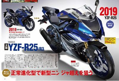 Rendering New Yamaha R25 dari Young Machine