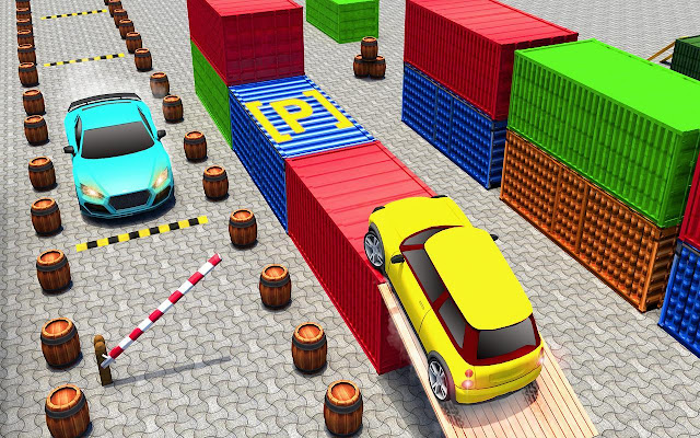 car driving and parking games